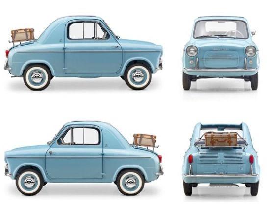 Vespa 400 - Smallest Cars