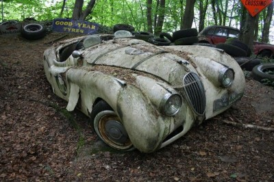 Vintage Supercars Deliberately Left To Rust And Rot