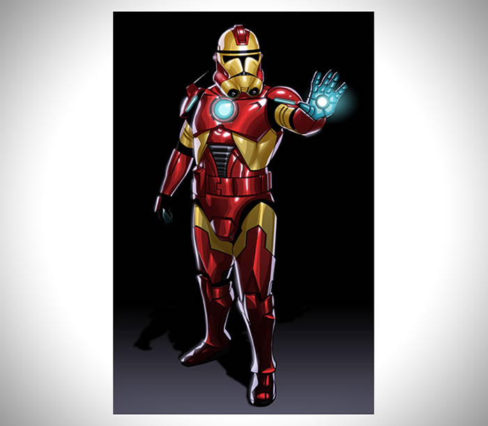 What If The Avengers Were Star Wars Clone Troopers 4