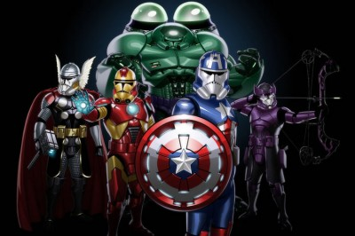 What If The Avengers Were Star Wars Clone Troopers