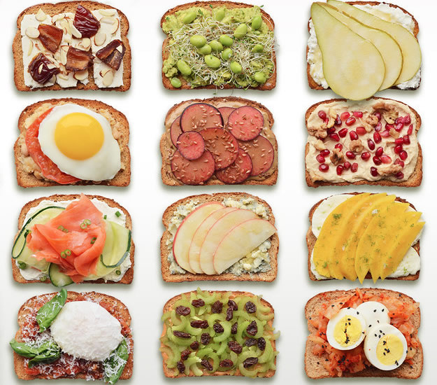 Breakfast Toast 12 Delicious Healthy Recipes