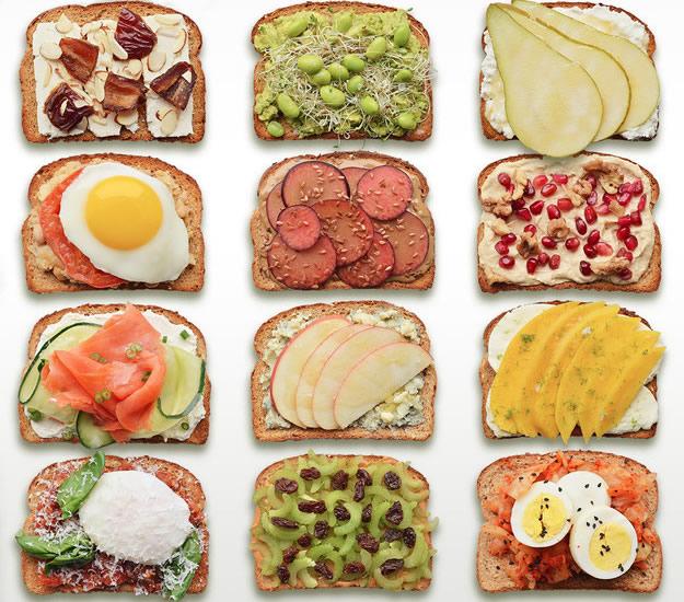 12 Healthy Breakfast Recipes: Breakfast Toast 12 Delicious Healthy Recipes