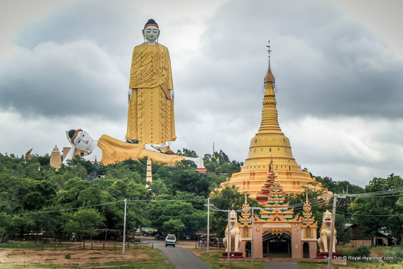 Laykyun Setkyar BuddhaBiggest Outdoor Statues In The World