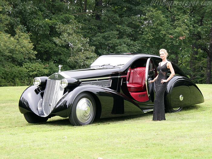 Luxury Automobiles - 1925 Rolls Royce Phantom I (3)