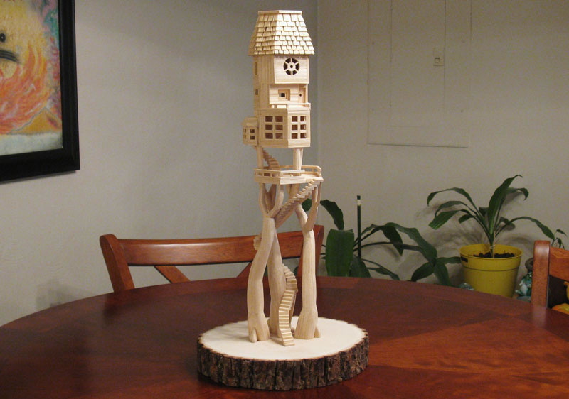 Sculptures Made From Toothpicks (4)