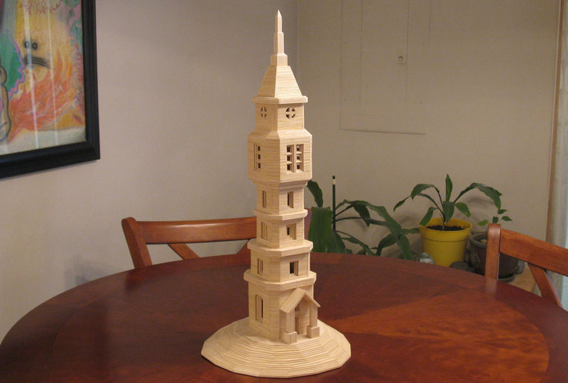 Sculptures Made From Toothpicks (6)