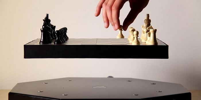 This Levitating Chess Set Will Freak You Out