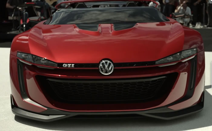 Volkswagen Build Gran Turismo GTI Roadster Supercar 1