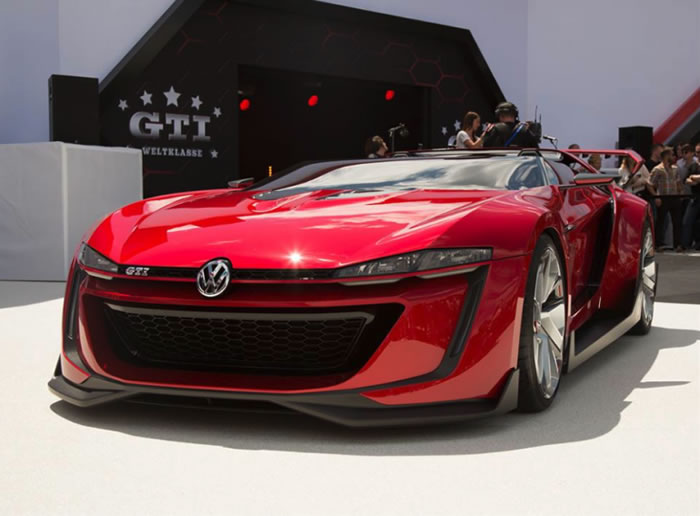 Volkswagen Build Gran Turismo GTI Roadster Supercar