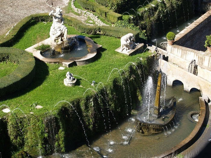 When In Rome You Must Visit Tivoli Fountains 4