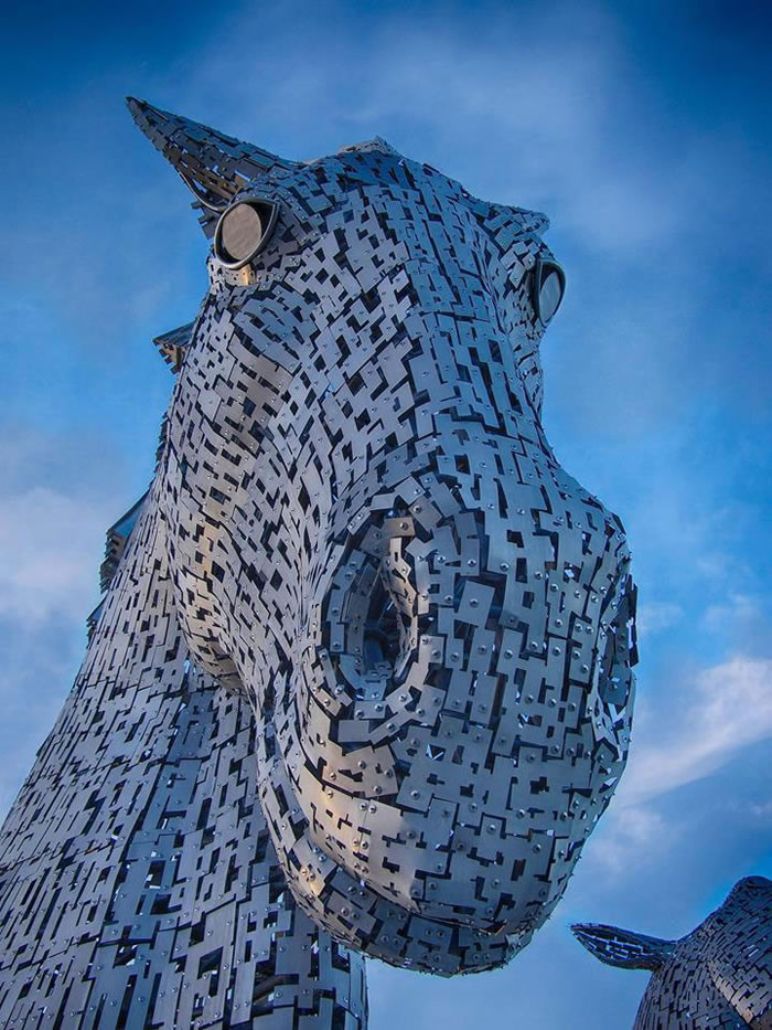 You'll Be Amazed By Scotland's New Giant Horse Head Sculptures 3