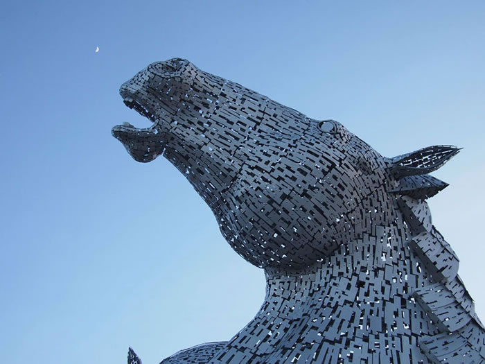 You'll Be Amazed By Scotland's New Giant Horse Head Sculptures 4