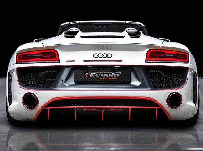 Audi R8 Spyder Convertible Tuned By Regula