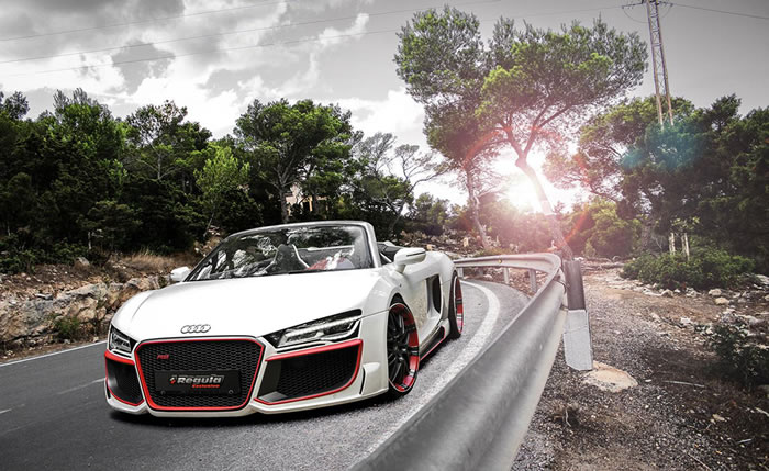 Audi R8 Spyder Convertible Tuned By Regula 4