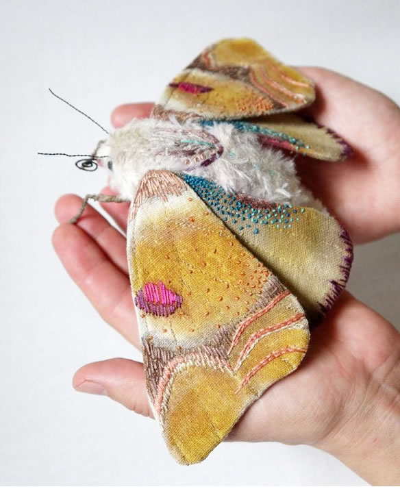 Custom Embroidery Amazing Giant Moths And Butterflies (2)