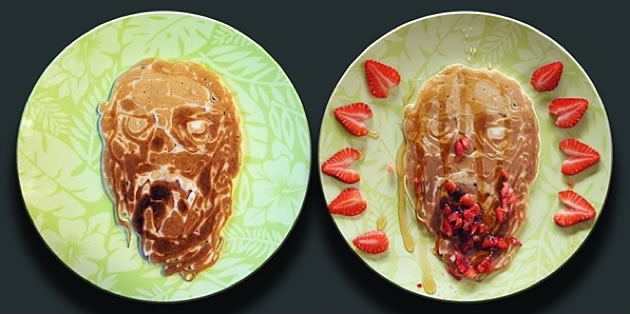 Dad creates Amazing  Pancakes For His Kids 11