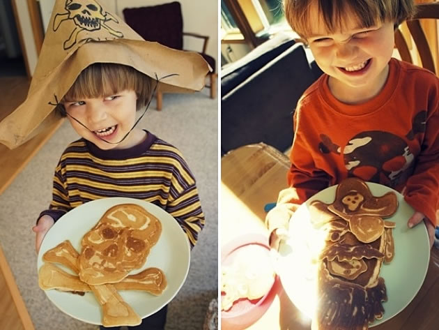 Dad creates Amazing Fun Pancakes For His Kids 7