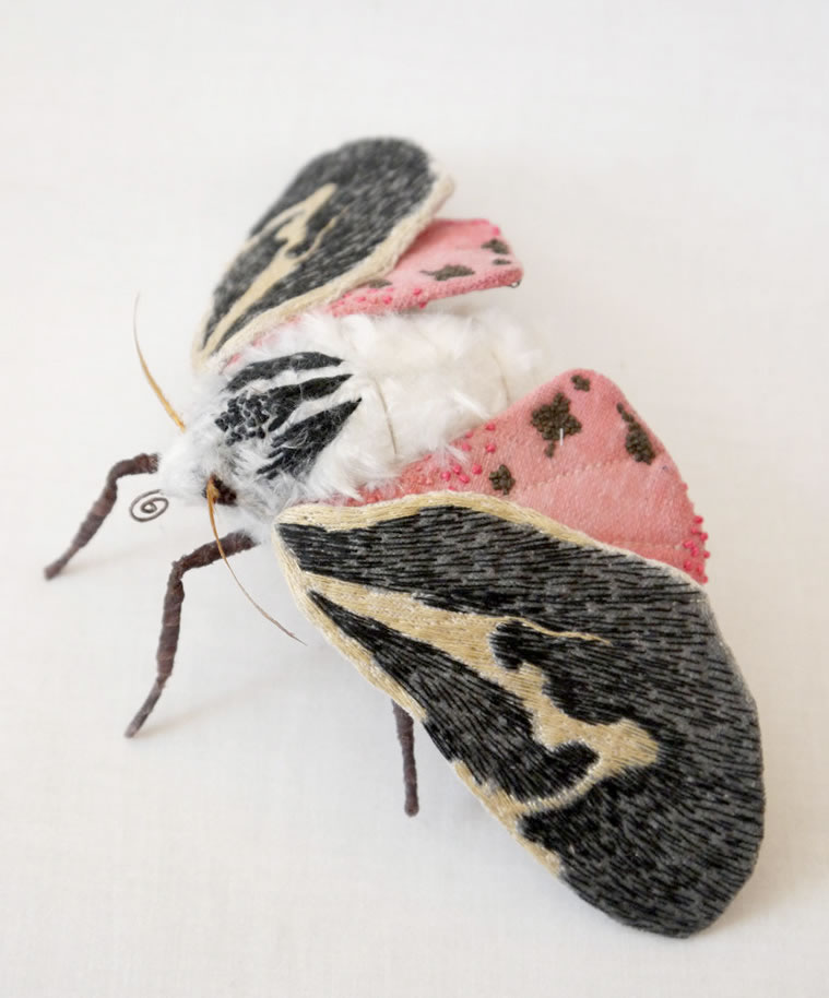 Embroidery Amazing Giant Moths And Butterflies (16)
