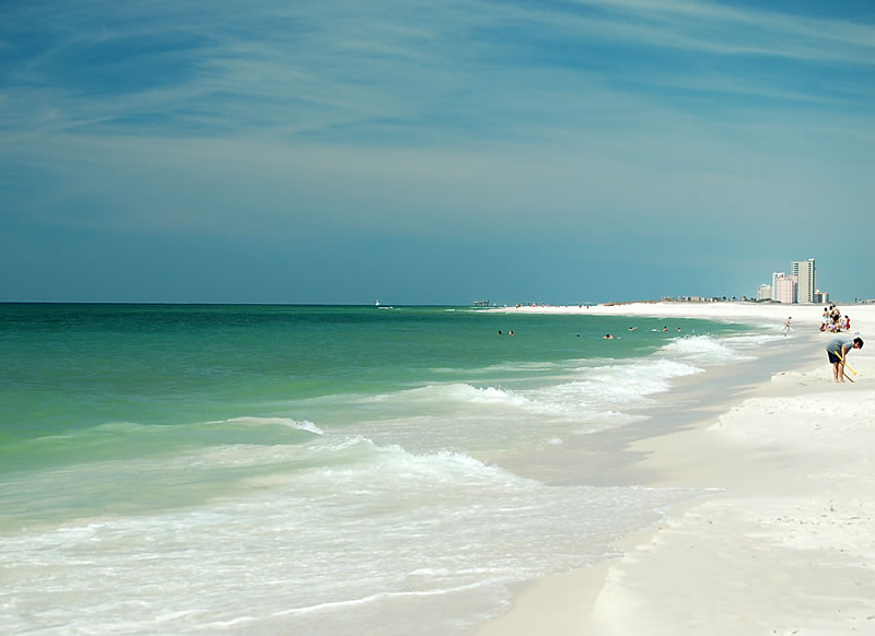 Gulf State Park 25 Cleanest Beaches America