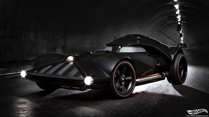 Hot Wheels Build The Darth Vader Mobile And It is Awesome 1