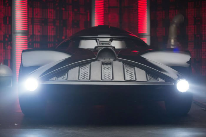 Hot Wheels Build The Darth Vader Mobile And It is Awesome 4