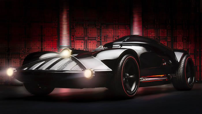 Hot Wheels Build The Darth Vader Mobile And It is Awesome 5