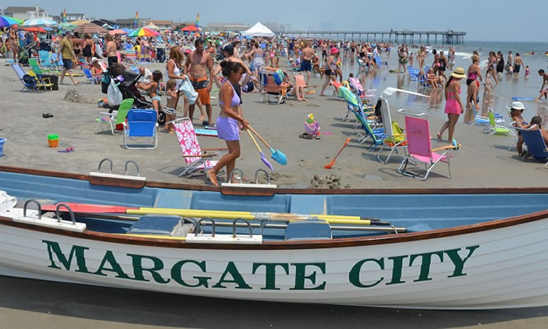 Margate Atlantic County 25 Cleanest Beaches America