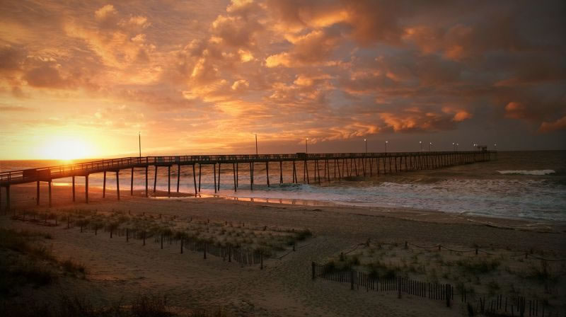 Ocean Pier Beach 25 Cleanest Beaches America 1