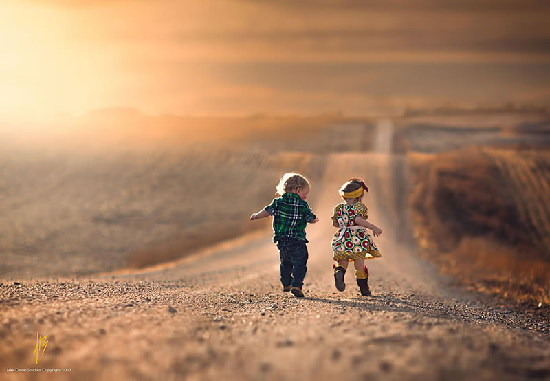 9 Beautiful Images Of Children Playing From Around The Globe