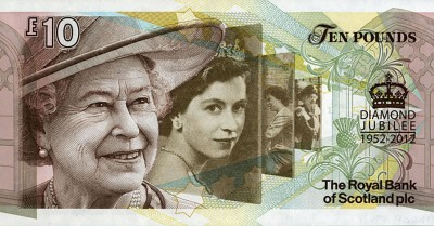Banknotes Showing Queen Elizabeth II From Childhood To Now