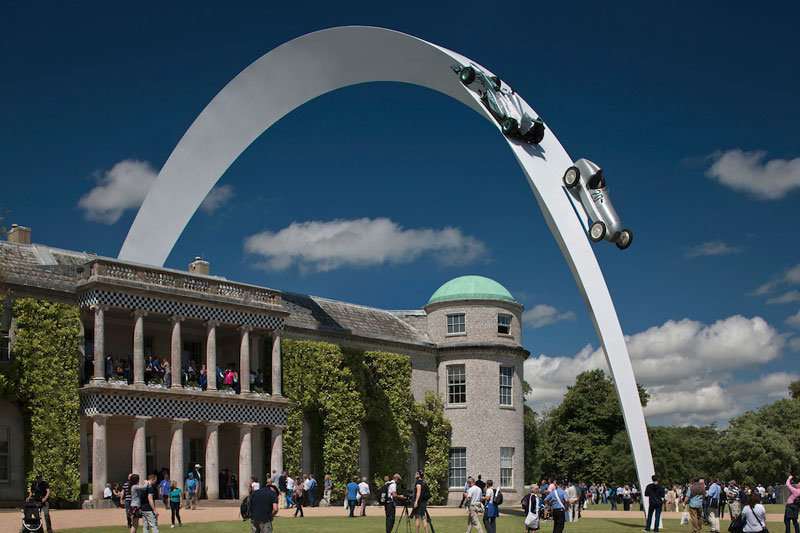 Car Scupltures goodwood