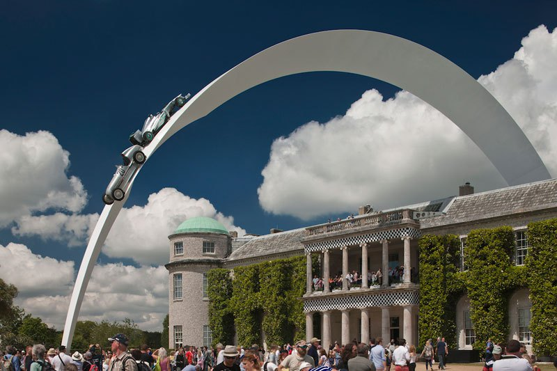 Goodwood Festival Of Speed Amazing Car Scupltures