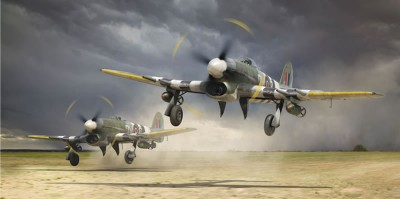 typhoon Classic Aircraft From World War 2 - Saviours In The Skies