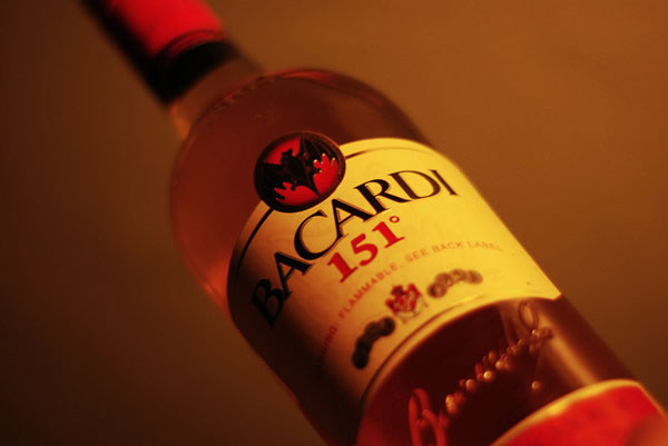 Bacardi 151Top 10 Strongest Alcoholic Drinks In The World