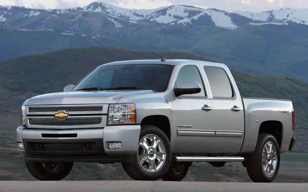 Top 10 Most Stolen Cars in America - Chevrolet Silverado