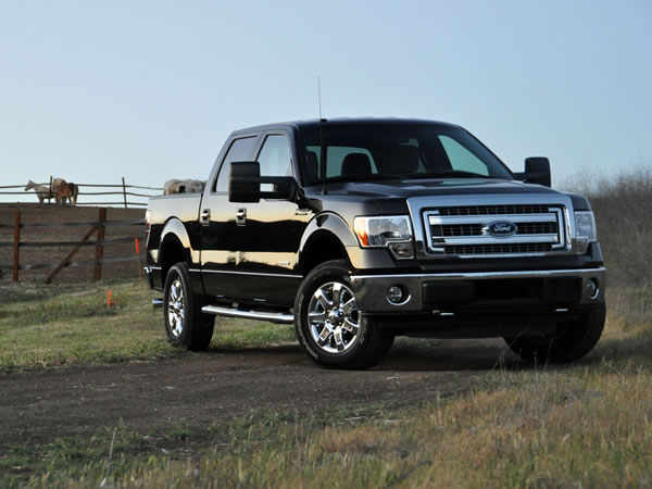 Top 10 Most Stolen Cars in America - Ford F-150