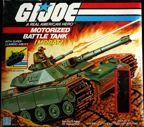 Ten 80s Toys That Sold For Mega Bucks - G.I. Joe Motorized Battle Tank
