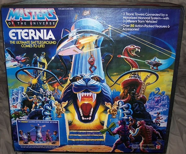Ten 80s Toys That Sold For Mega Bucks - He Man Eternia Playset