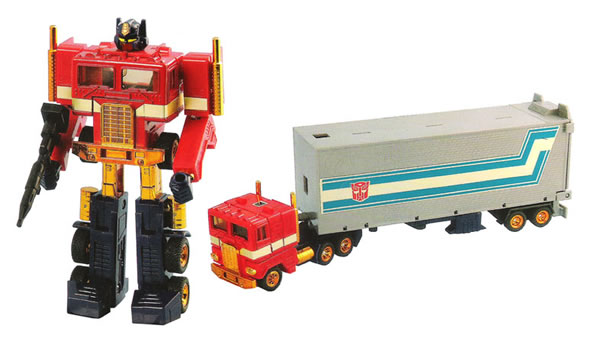 Ten 80s Toys That Sold For Mega Bucks - Optimus Prime toy