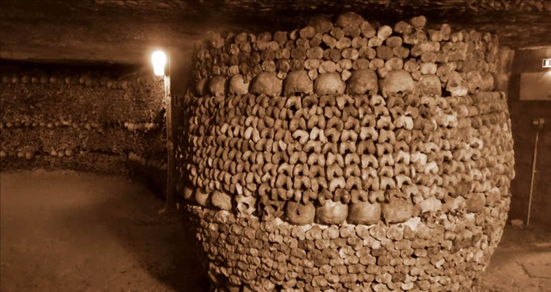 Paris Catacombs Haunted Places