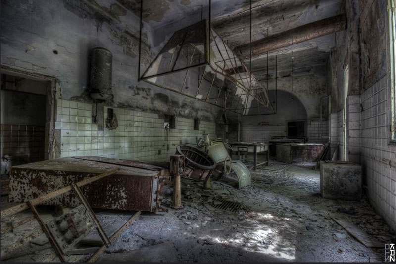 Poveglia Haunted Places