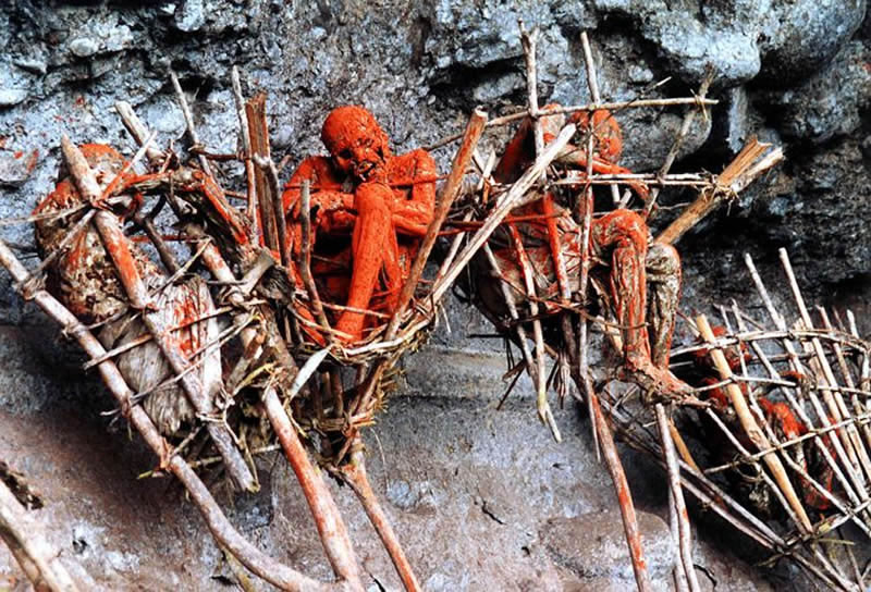 Smoked Corpses Papua New Guinea Haunted Places