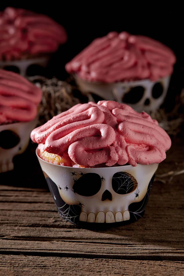 20 Fun And Creative  Brain Cupcakes 1