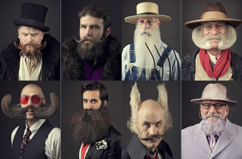 30 Craziest Beard And Moustache Championship Entries 2014