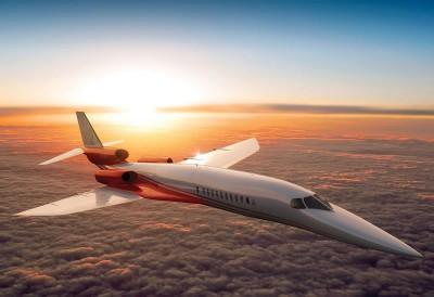 Amazing Supersonic Aeiron AS2 Private Jet Will Go 1217 MPH