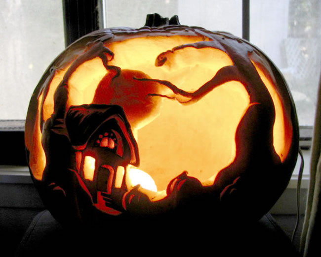 Amazing And Spooky Pumpkin Carvings (6)