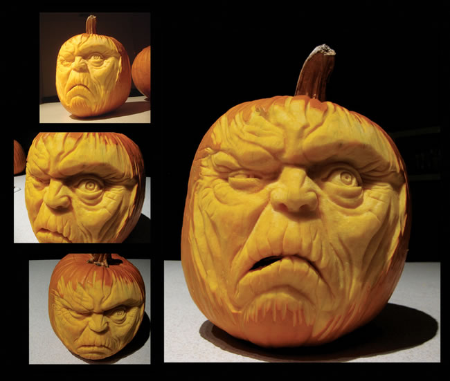 Amazing And Spooky Pumpkin Carvings (8)