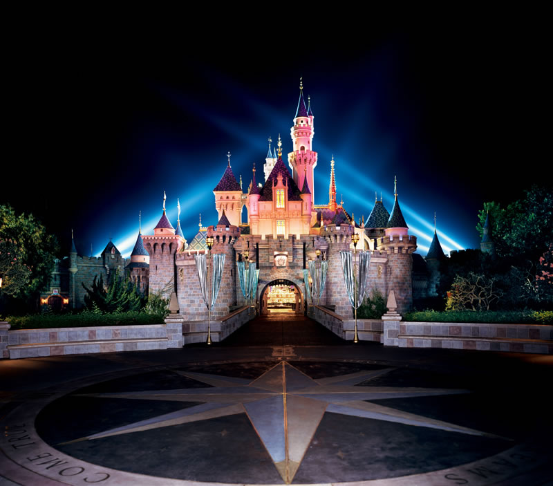 Disneyland Park  - Most Visited Amusement Parks In The World