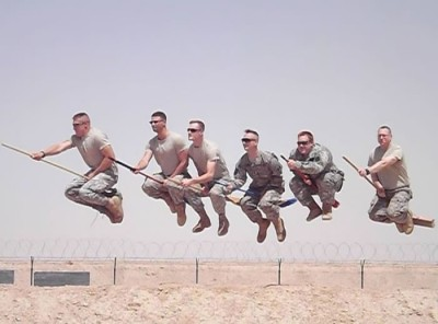 Funny Military Pictures – What We Do On Our Day Of