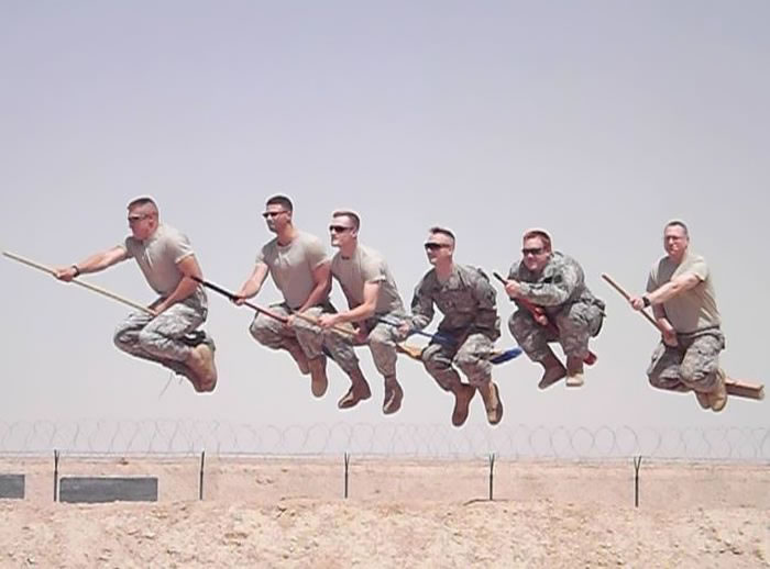 Funny Military Pictures - What We Do On Our Day Of (1)